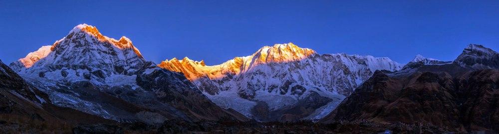 lever de soleil _ annapurnas _ oror salaun