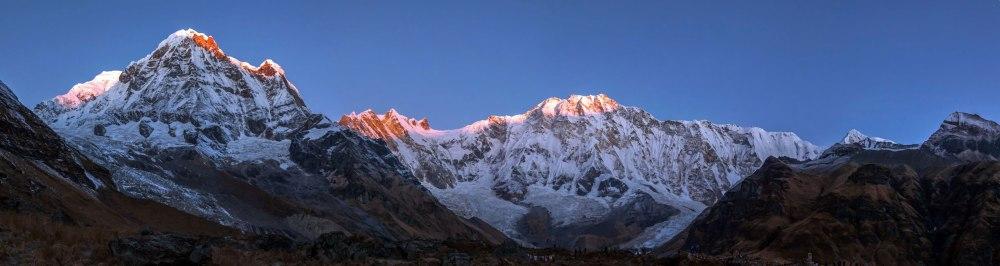 lever de soleil _ annapurnas base camp